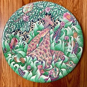La Jungle by Gien France Antique Porcelain Plate